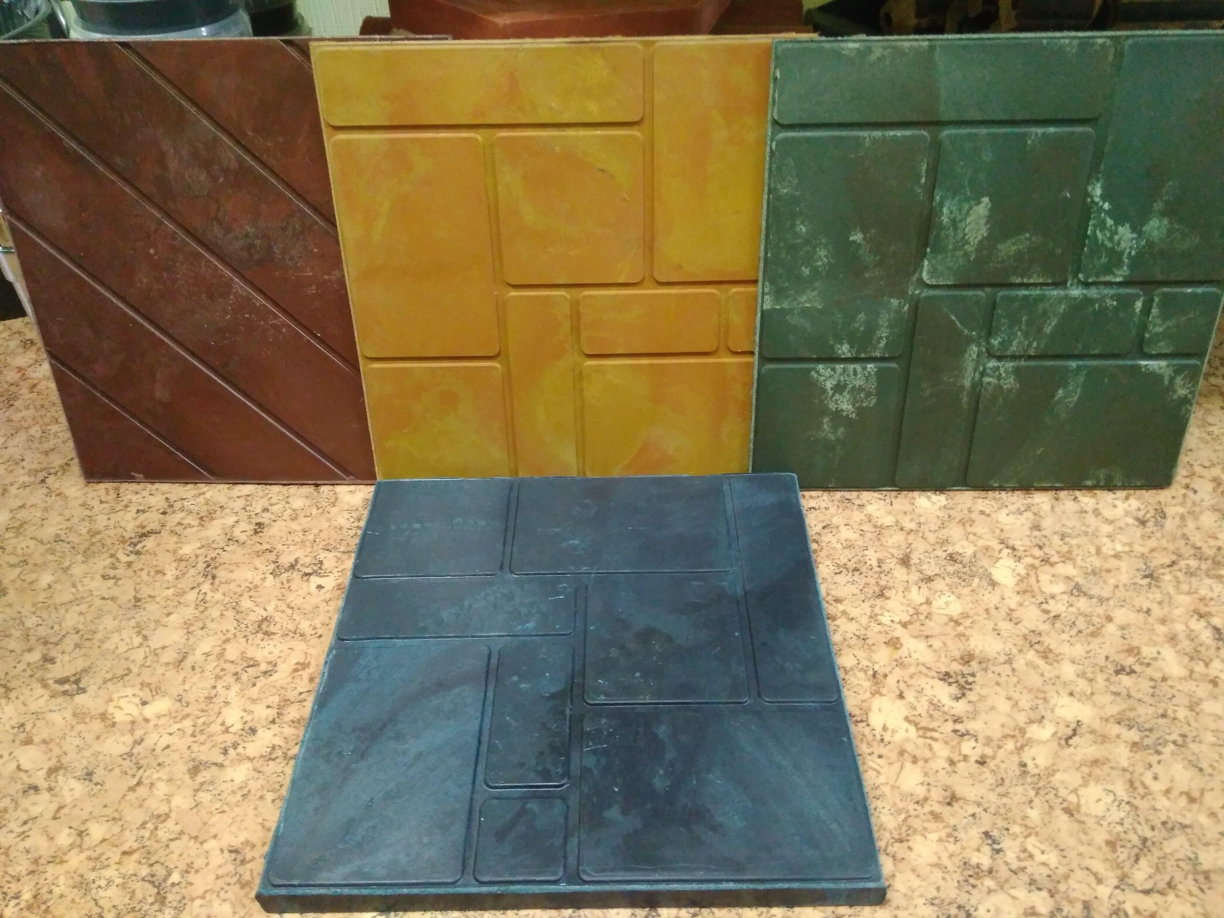 Тротуарная полимерная плитка своими руками 43